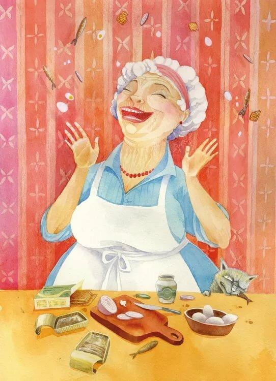 Картинки и рисунки бабушки