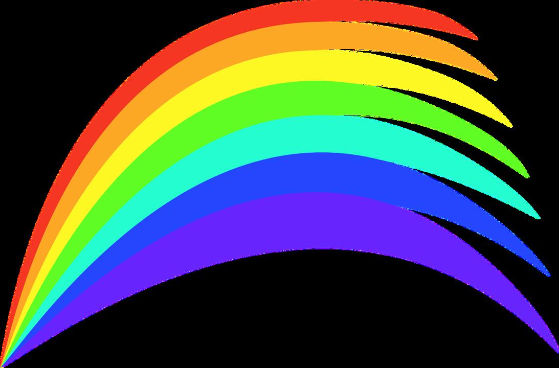 Картинка радуга рисованная