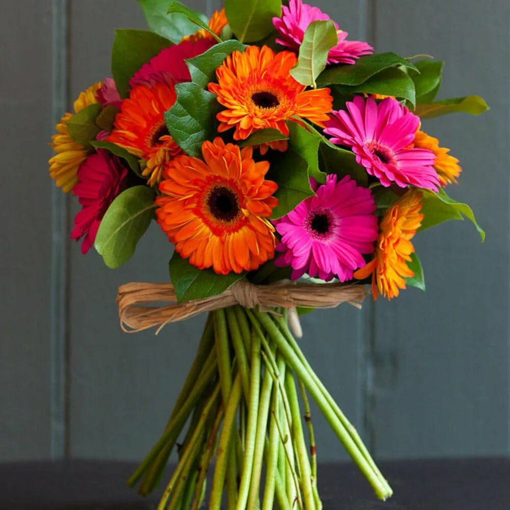 букеты с герберами фото цветов это натуральный