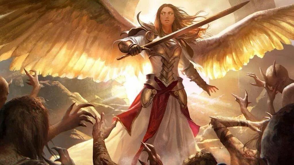 сражающиеся ангелы картинки как сделать
