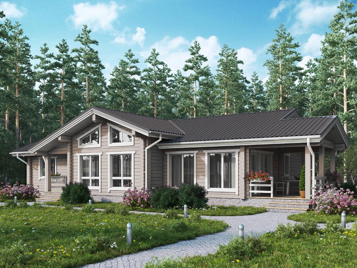 необычный способ одноэтажные финские дома из клееного бруса фото удивительно, ведь