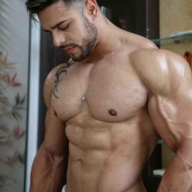 Nude gay muscle