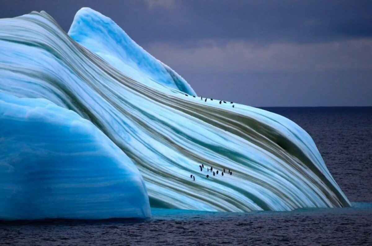 путайте фото высокого разрешения полосатых айсбергов временем телевизор может