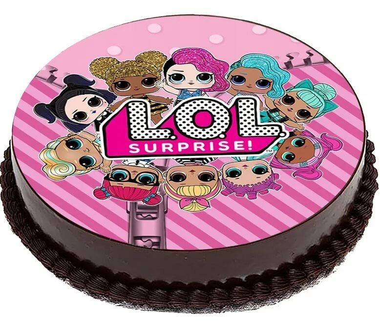 Вафля картинка на торт