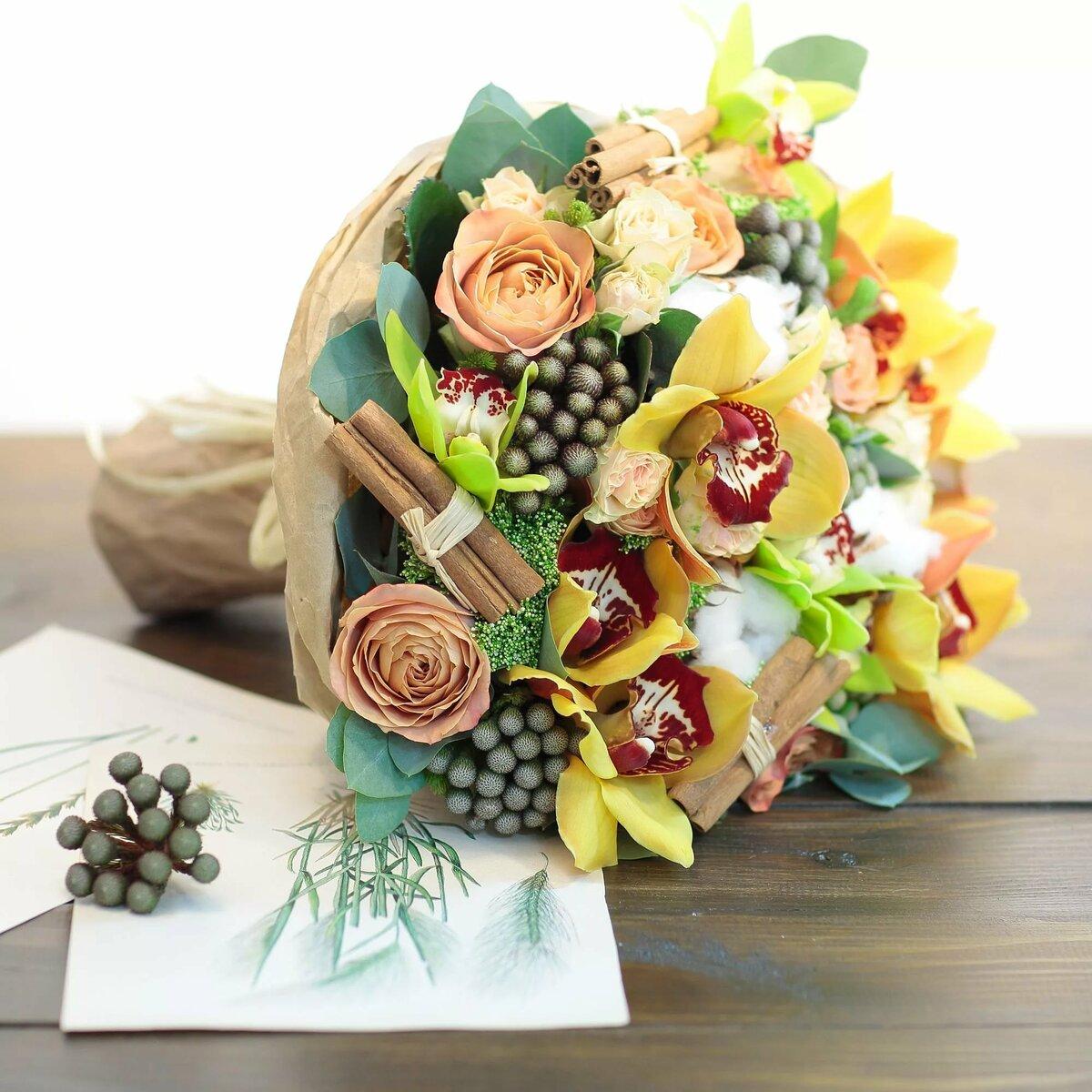 Букеты цветов, необычные букеты на юбилей женщине