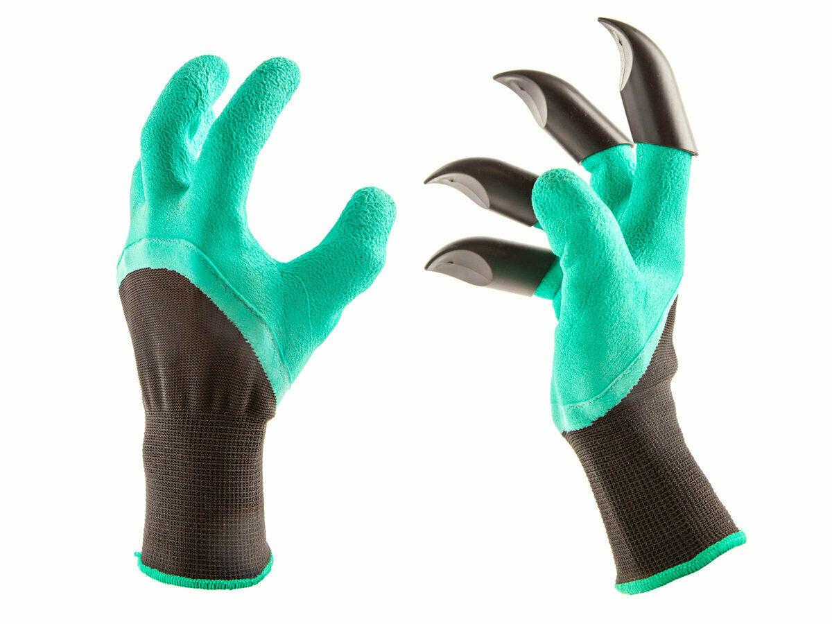 Перчатка для работы в саду и огороде Garden Genie Gloves в Бирюсинске