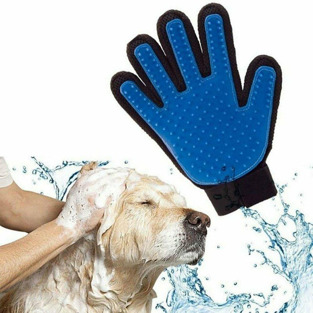 Перчатка для расчеcки шерсти животных в Туркестане