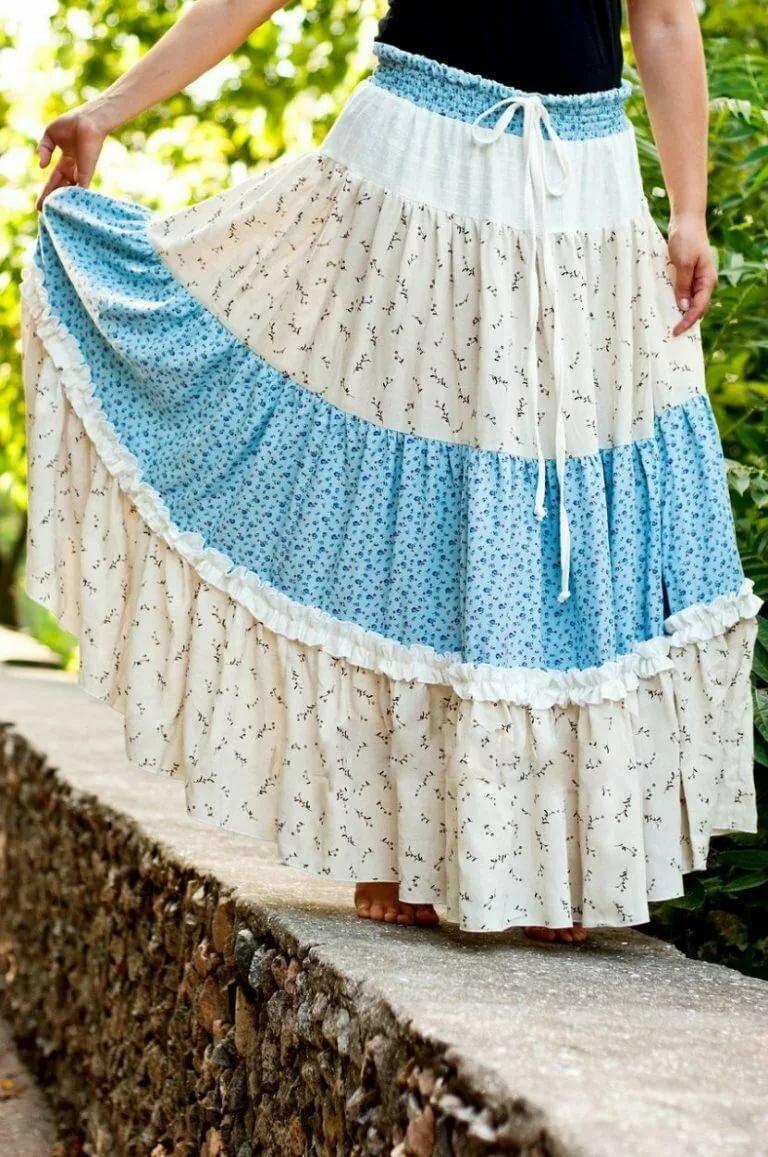 длинной пышной юбки оборками крючок ткань фото мишель выполнена