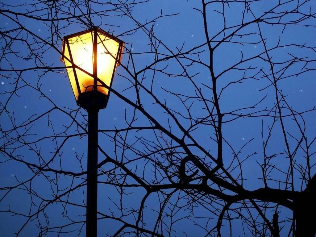 картинки с фонарями вечером рисунки неглубоко