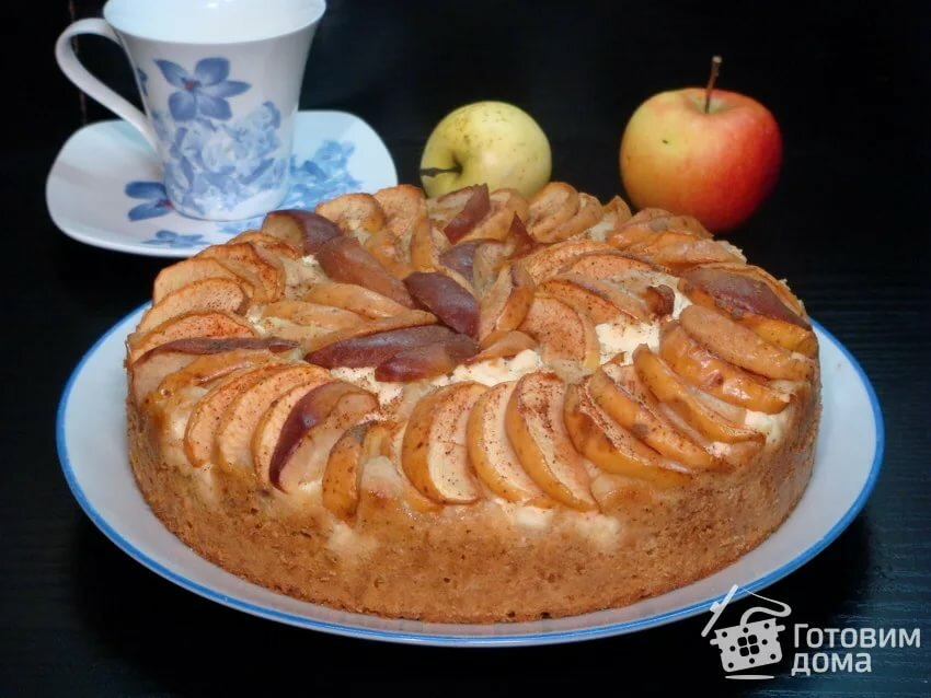 словам девушки, подробный рецепт яблочного пирога с фото выслали деревни