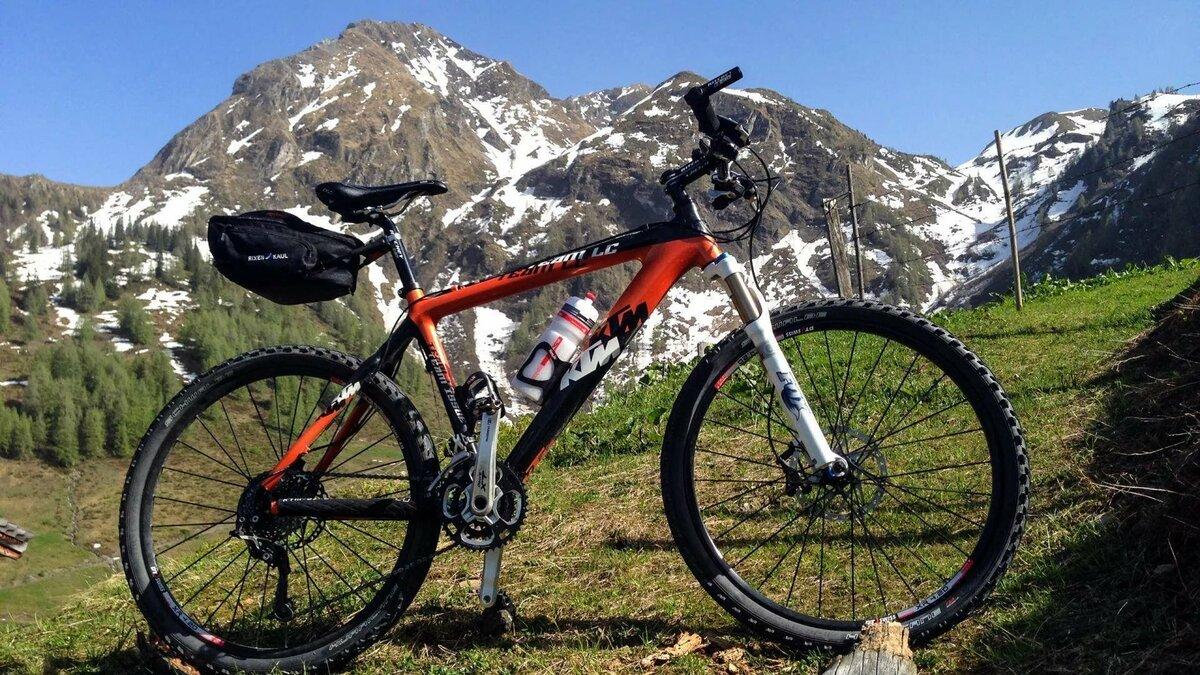 Картинка велосипед горный