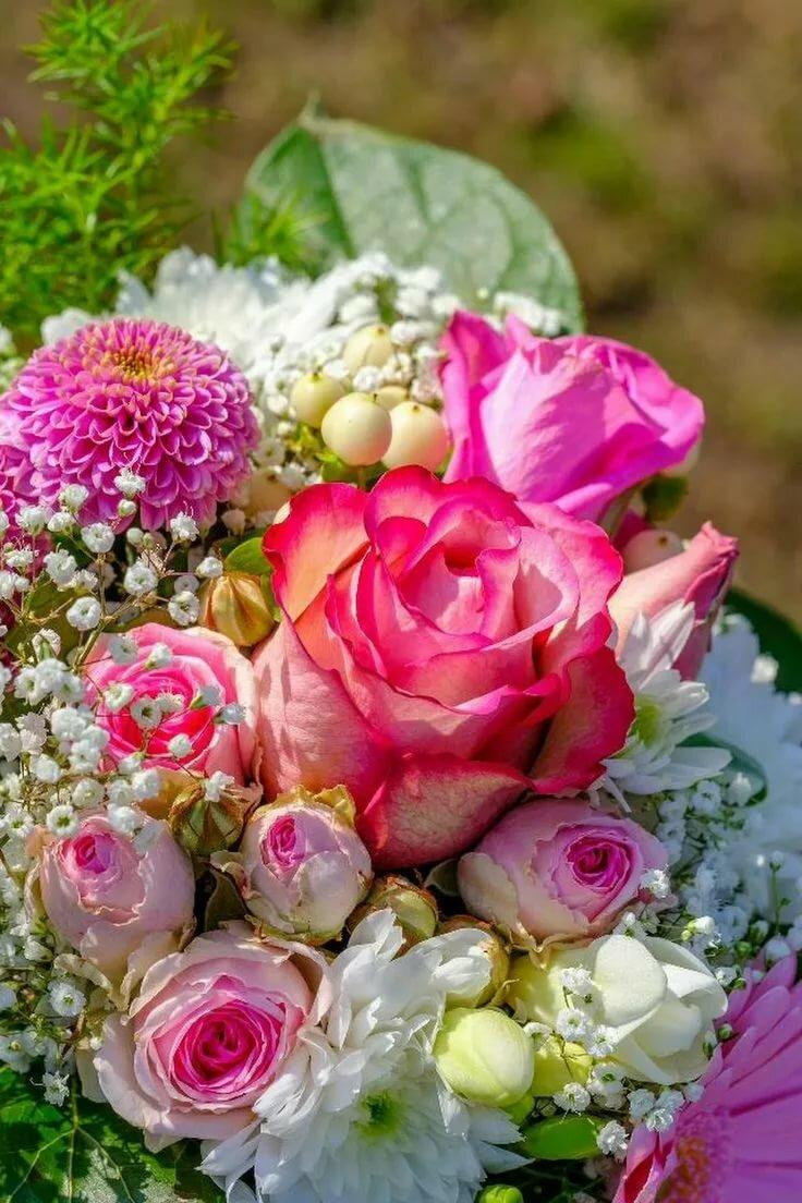 Очень красивые открытки с цветами