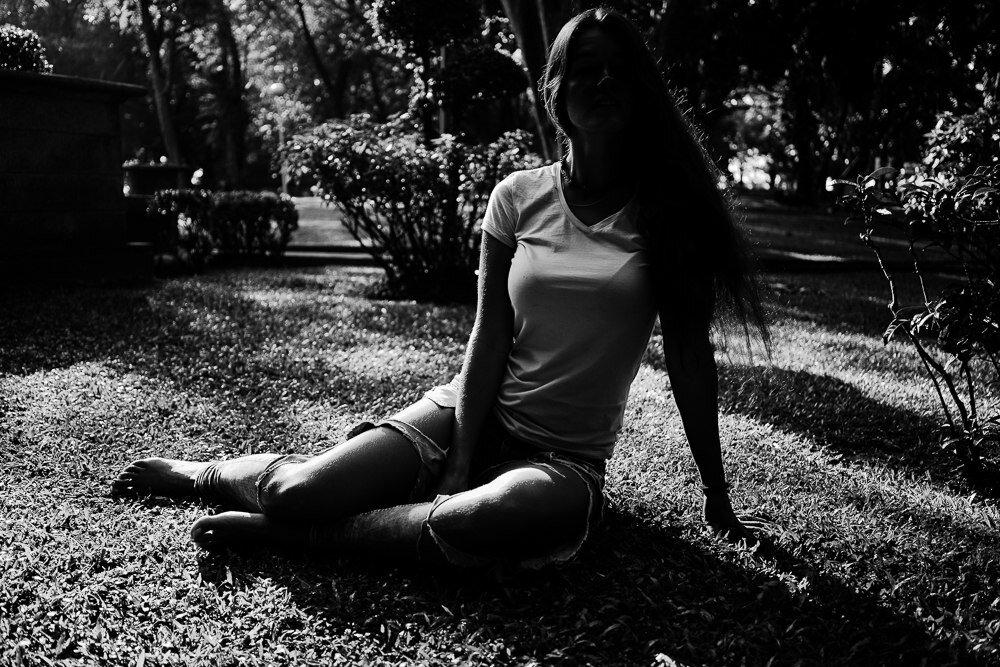 женщиной обычные фото девушек без лица зависит