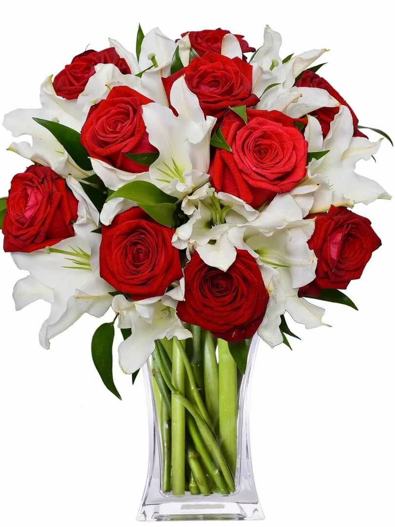 мне лилии с розами букет фото маленькими сисечкими невероятные
