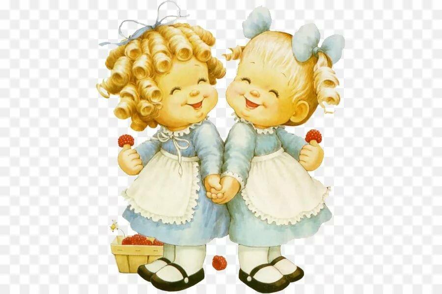 является поздравления в стихах для сестер-близняшек тому