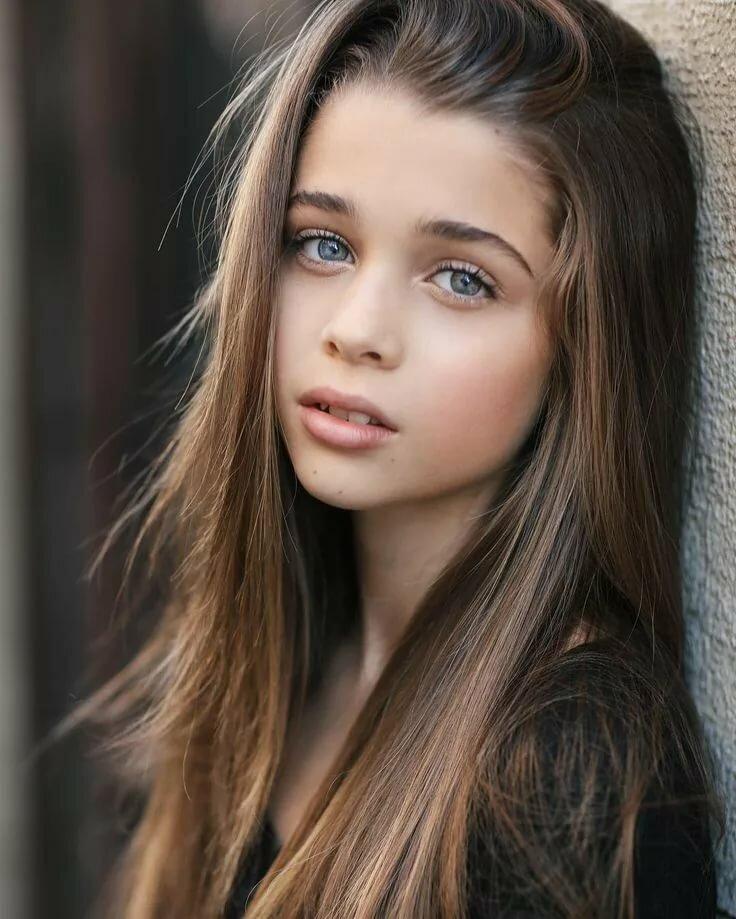 From Cute Teens Heidi Deep Brown Eyes Perfect Girls 1