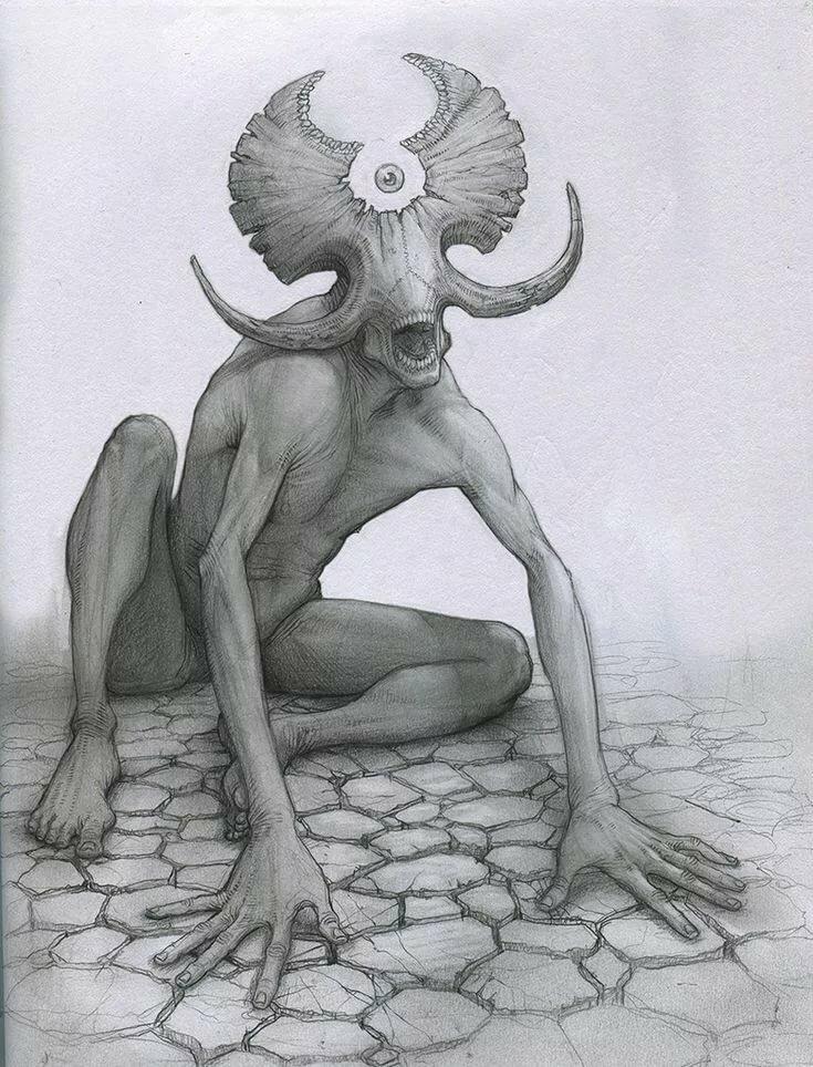 Картинки нарисованых монстров
