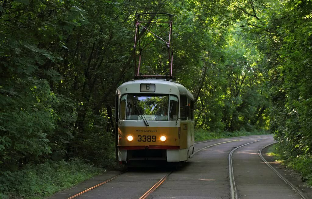Фото маршрута трамваев в москве