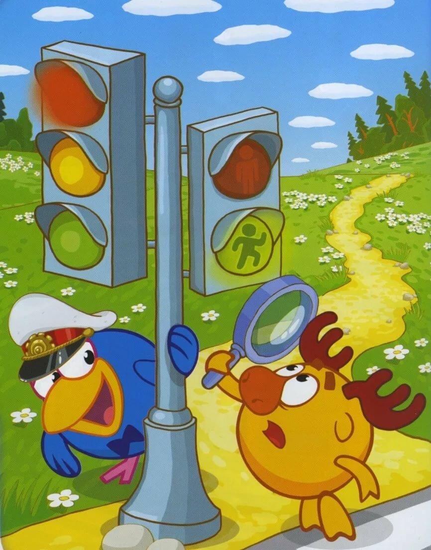 Картинки детские светофоров