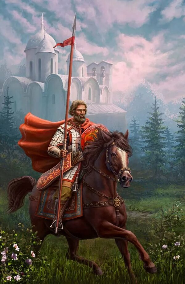 Картинки с русскими витязями
