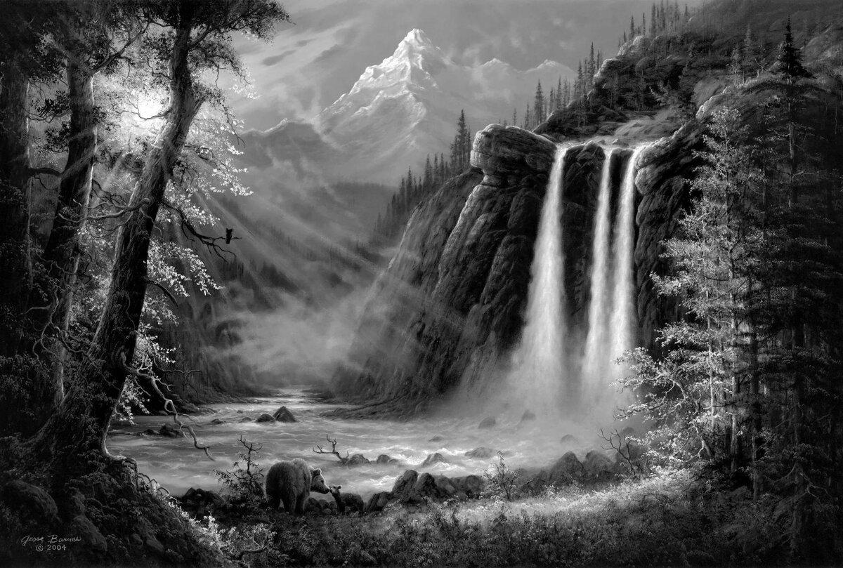 Анимашки картинки пейзажи