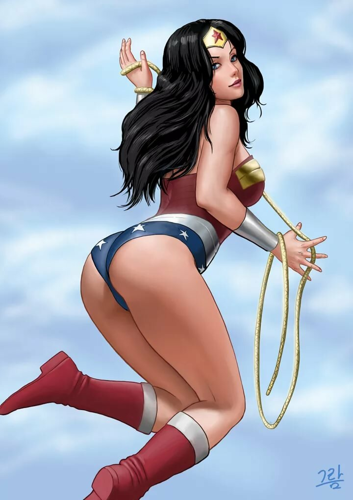 Superhero nice ass