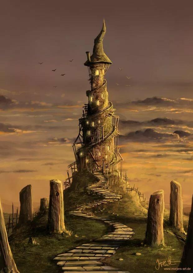 Картинка башня мага