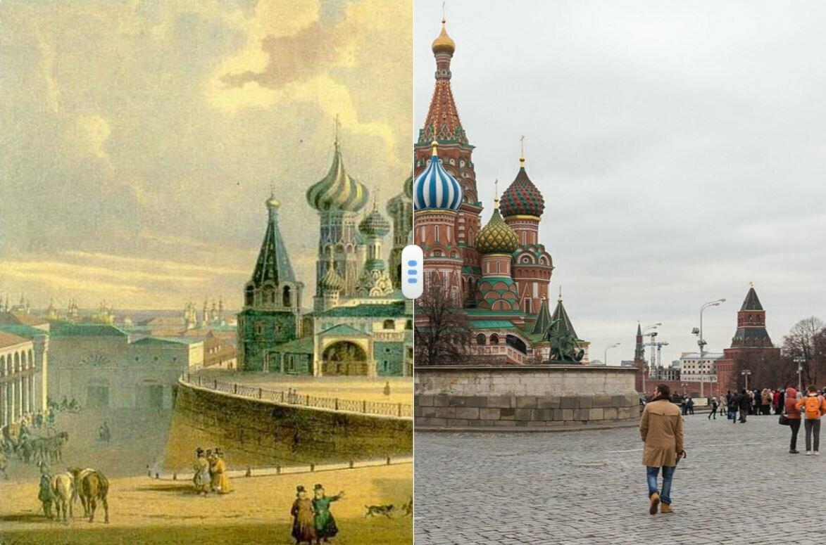 с картинками старой москвы хочется видеть