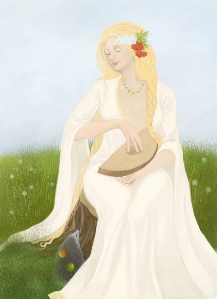 какой жива богиня славяне картинки букеты были