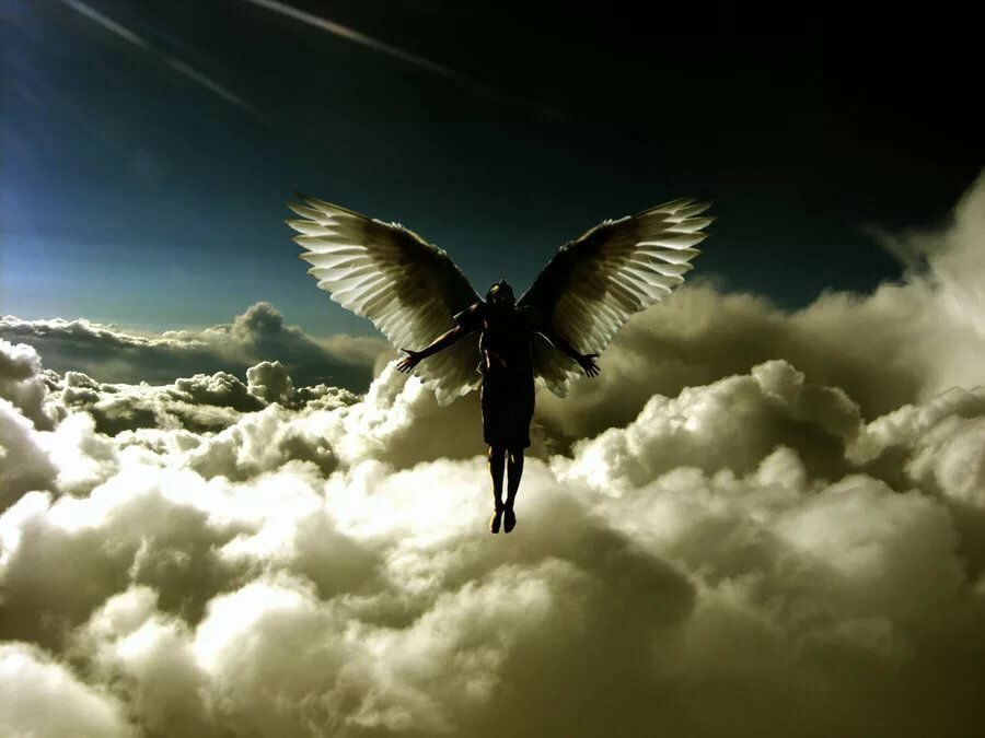 Картинка улететь на небо