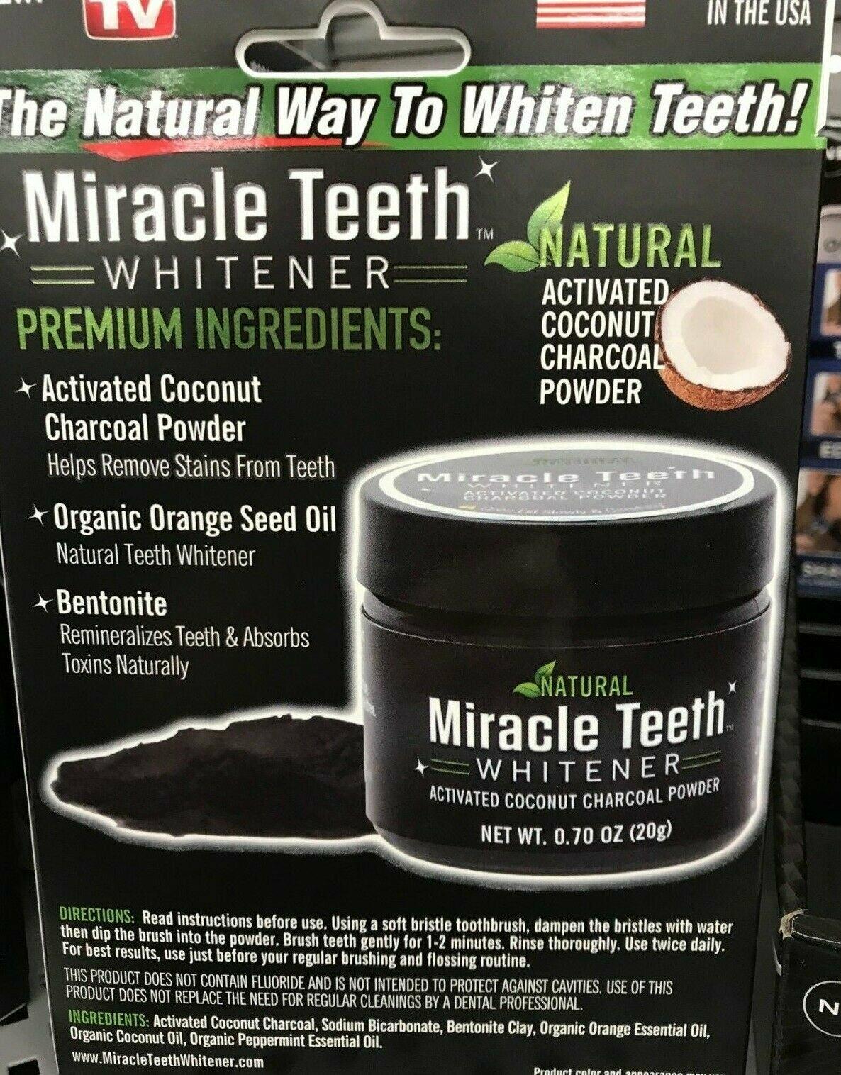 Отбеливатель зубов Miracle Teeth Whitener в Усть-Катаве