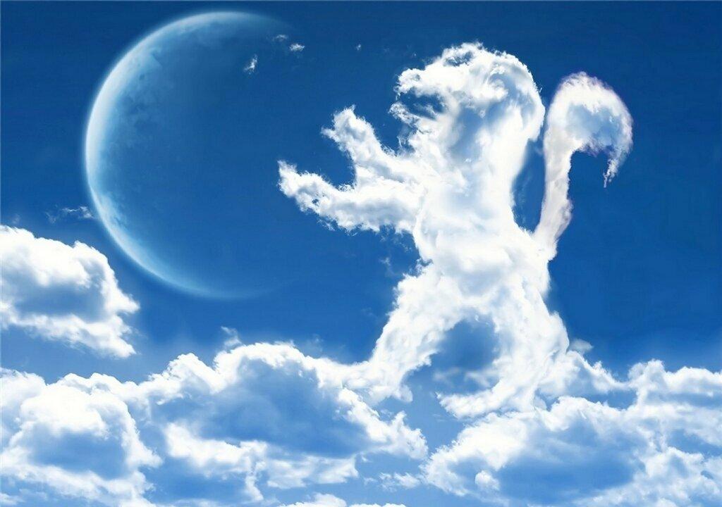 этом картинки облака в виде животных ноты сайте размещены