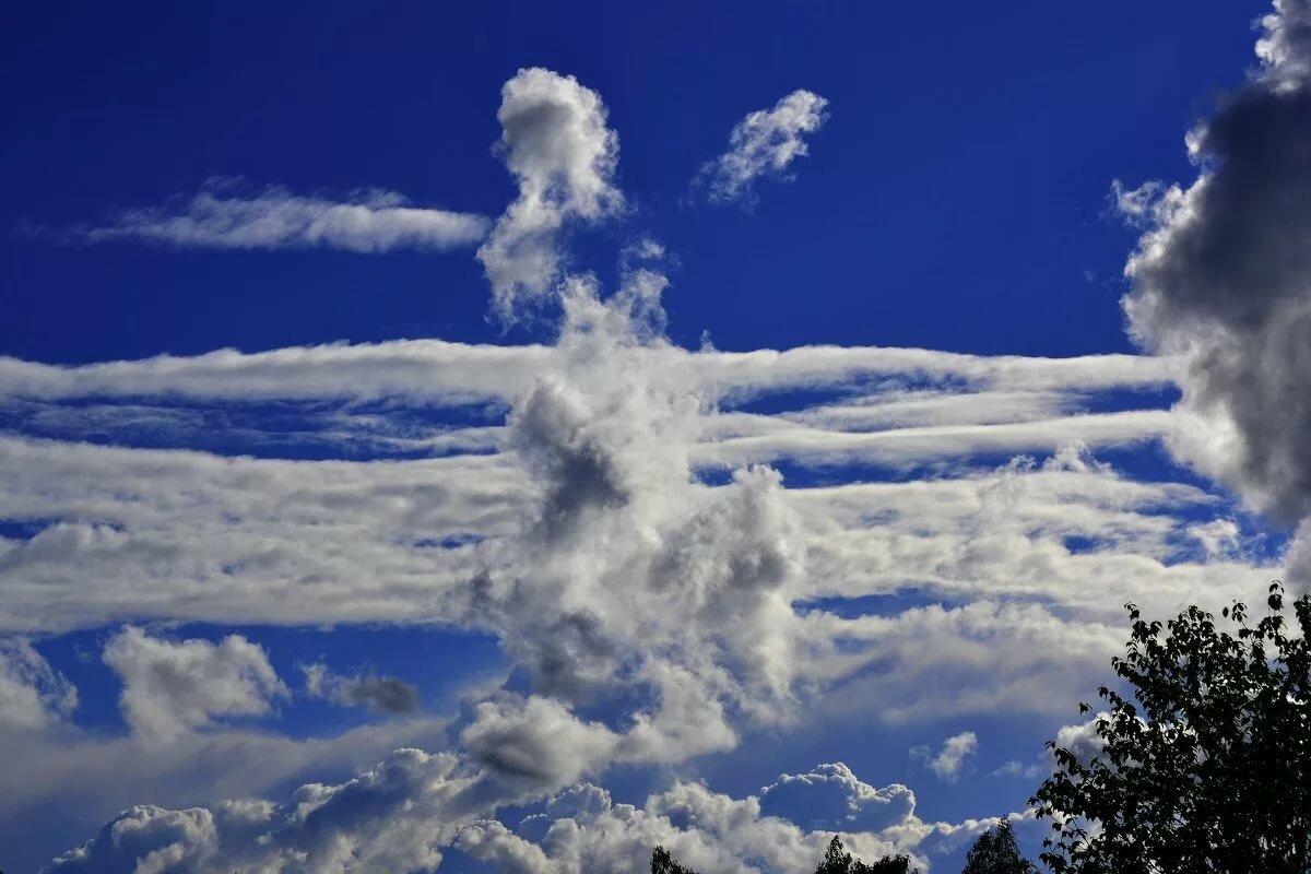Красивые картинки облаков фото и название