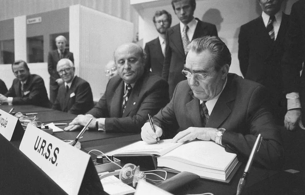 30 июля 1975 года вХельсинки открылся заключительный этап Совещания по безопасности и сотрудничеству в Европе