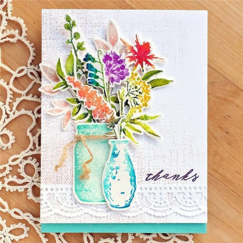 Скрапбукинг открытки штампы