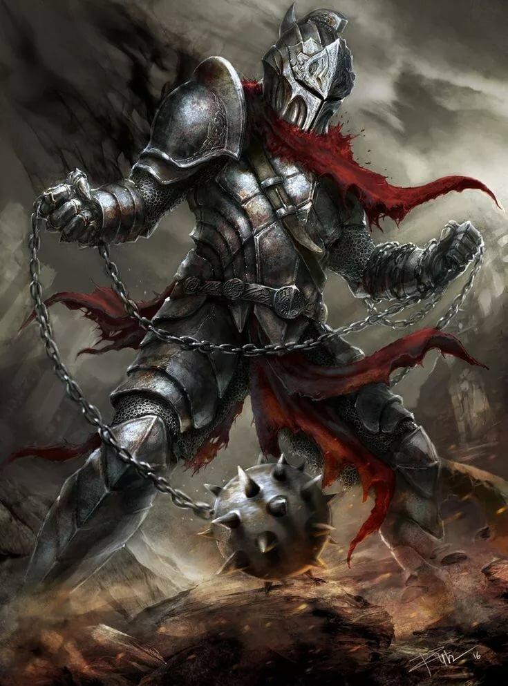 Крутые арты средневековья