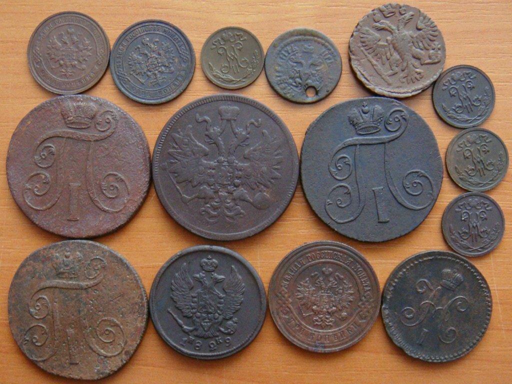 Каталог старинных медных монет фото