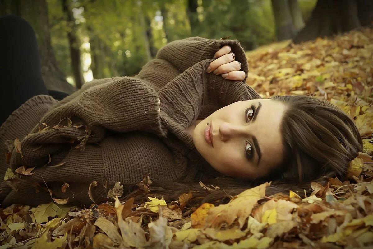 Картинки девушка и осень красивые, рождением