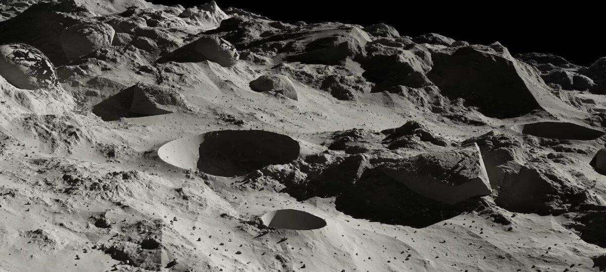 иван фотографии кратеров луны очень хорошая про