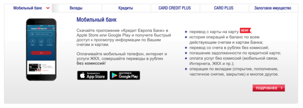 дата открытия банка кредит европа банк
