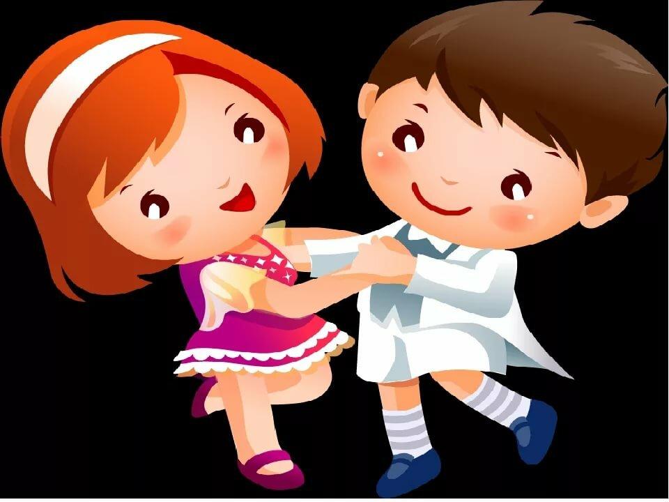 Дети весело танцуют картинки