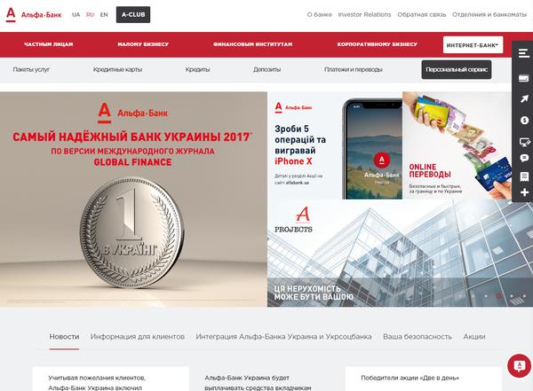 как оформить кредит в альфа банке через интернет