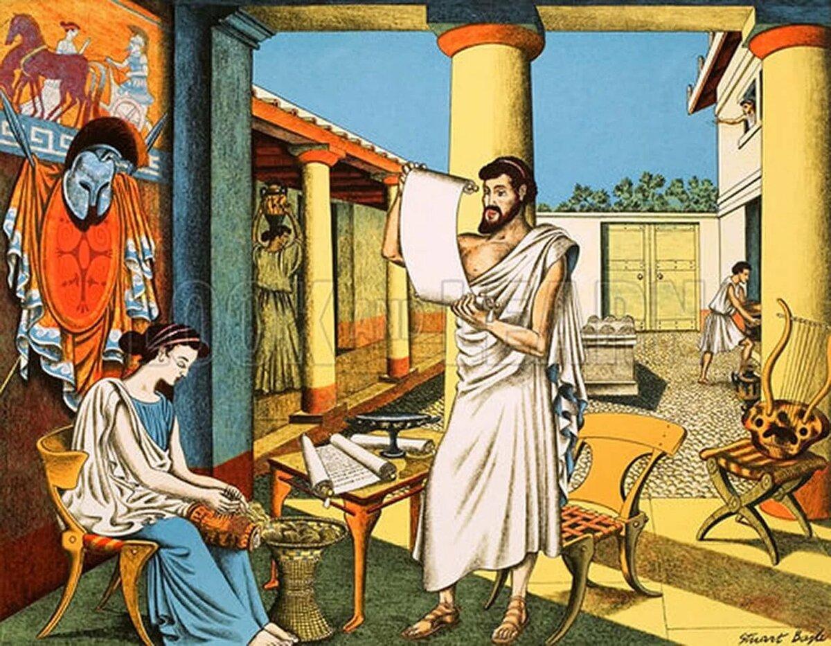 Открытки древняя греция, прикольные