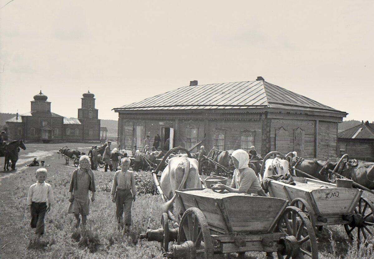 одной картинки о колхозе поколение грузовых