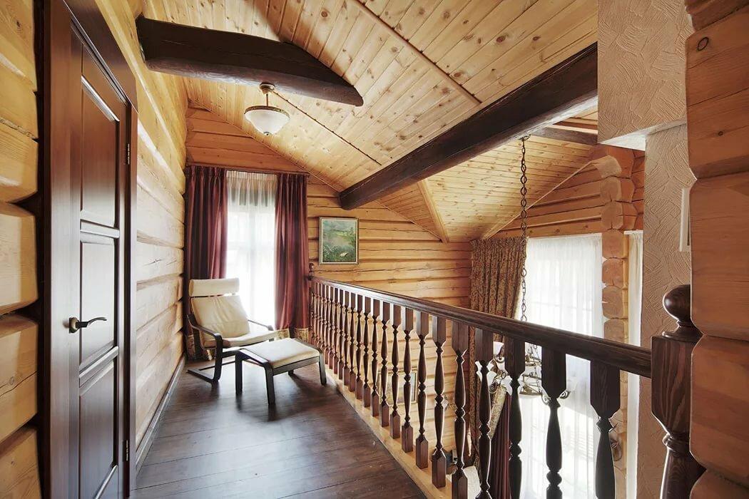 Отделка деревянного дома внутри фото второй этаж сожалению