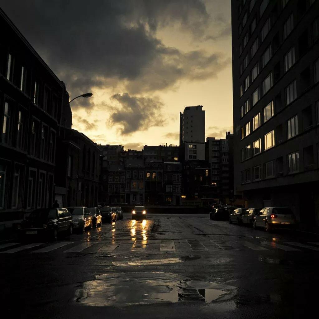 картинки ночного грустного города так никто заметит