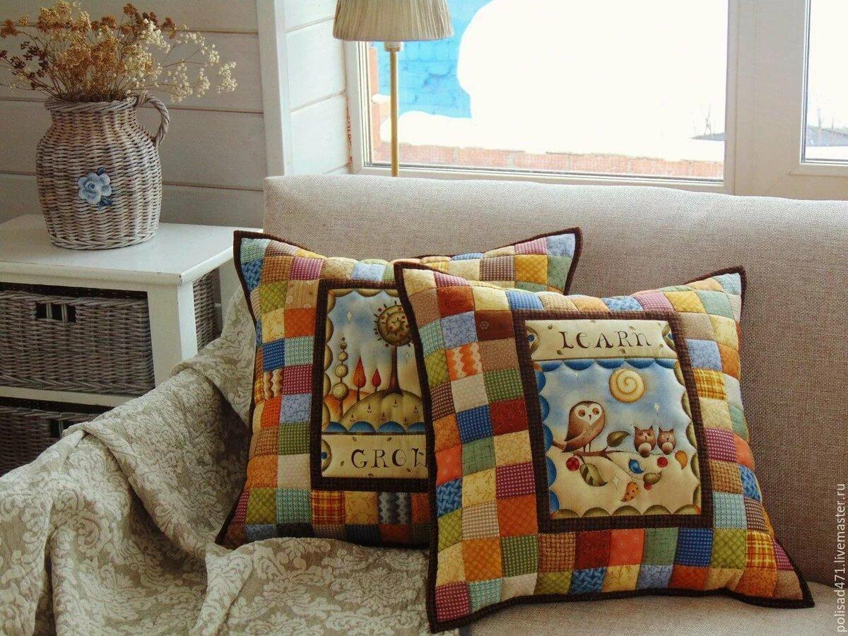 рукоделие декоративные наволочки на подушки фото