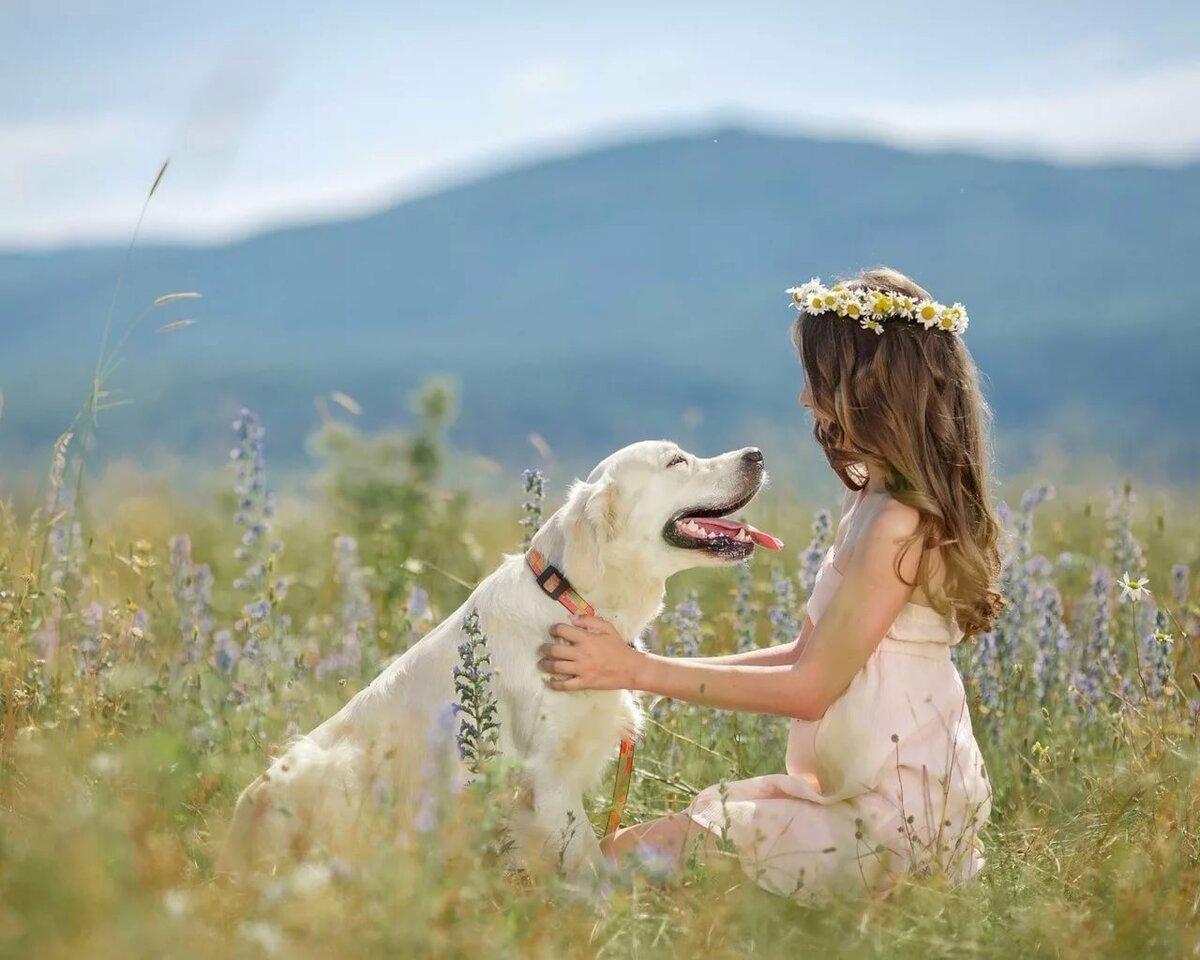 Красивые картинки люди и животные