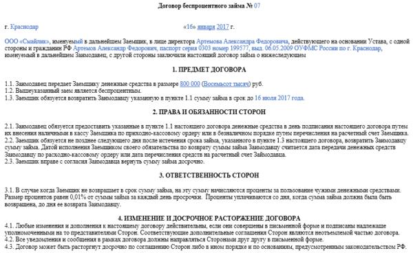 содержание и исполнение договора займа ростовская обл займ у частных лиц