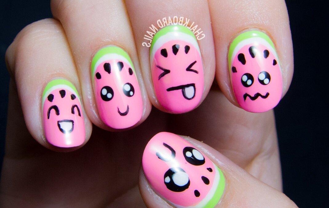 Прикольные рисунки для маленьких ногтей, картинки тачками поздравительные